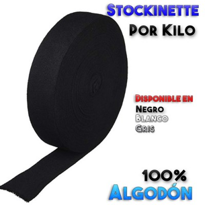 Tubo de Stockinette 100 % Algodon