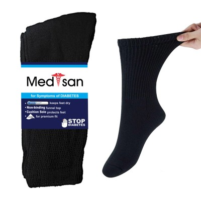 diabetic foot sock 2 pairs