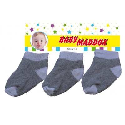Grey and white cotton Socks