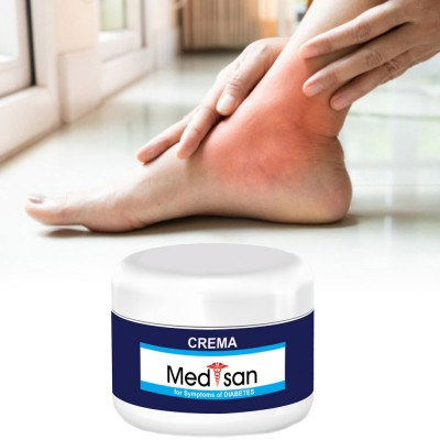 Diabetic lotion for feet and hands